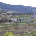 575 キャピタルホテルから見た山側の住宅