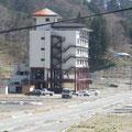 田老観光ホテル。この地区でこの建物だけが残った