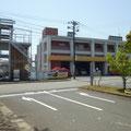 172 浪江町役場前の消防署(昨年に同じ)