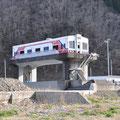 0525 平井賀川河口の水門(三陸鉄道電車に似せて)
