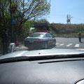 3109 大熊町方向は通行止め(静岡県警)