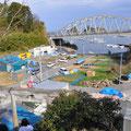 0227 わかめ加工場から小室漁港を望む