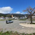 349 山田町大沢地区(防潮壁と国道沿いの新しい店舗)