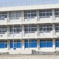 亘理町立荒浜中学校(近景)