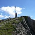 Am Gipfel des Pleisköpfl