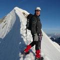 Ich am Gipfelgrat