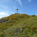 Gipfel der Hinteren Steinkarspitze