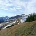 Galtjoch,Knittelkarspitze und Namloser Wetterspitze