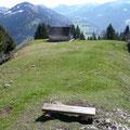 Kleine Hütte am Ostgipfel des Hittisberg