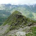 Höhenrücken / Westseite Felswand