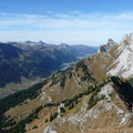 Blick von der Schneidspitze ins Tannheimer Tal