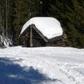 Hütte am Wegesrand