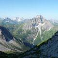 Großer Widderstein und Braunarlspitze im Hintergrund