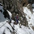 Aufstieg vom Gamsanger zur Sulzleklammspitze