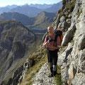 Abstieg vom Rauhorn Richtung Schafwanne