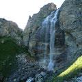 Wasserfall am Weg