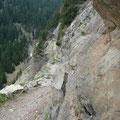 Abschnitt am Oberen Vellauer Felsenweg
