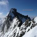 Abschnitt zwischen Piz Bianco und Piz Bernina.