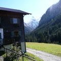 Beim Berggasthaus Hermine