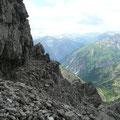 Muttekopf und Pimig,beim Aufstieg zur Öfnerspitze