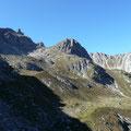 Am Querweg,zwischen Schafkarsee und Hirschhals