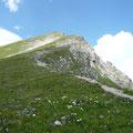 Abstieg am Normalweg vom Geißhorn