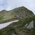 Anstieg zur Alpenspitze