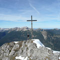 Am Gipfel der Schwarzhanskarspitze