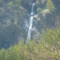 Partschinser Wasserfall vom Höhenweg