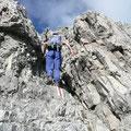 Schöne Kletterpassage