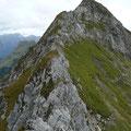 Schöne Gipfelflanken am Lachenkopf