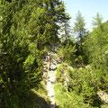 Am Aufstiegsweg