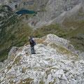 Abstieg über den Südgrat