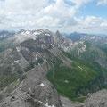 Gipfelpracht um die Kemptner Hütte