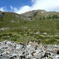 Aufstiegsgelände zur Zwölferspitze