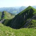 Blick auf das Grüne Gräshorn und den Annalper Stecken