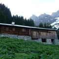 2.Hütte auf ca.. 1500 mtr.