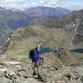 Im Abstieg vom Schafberg
