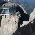Der Übergang vom Plateu zum Gipfel