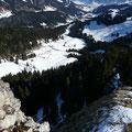 Blick ins Aubachtal