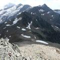Roter kopf und Freibrunner Spitze im Hintergrund