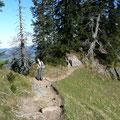 Unterwegs zwischen Hohenfluhalpkopf und Einegundkopf