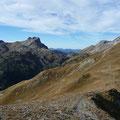 Blick über das Höhenbachtal Richtung Allgäu