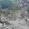 Südwestgrat der Öfnerspitze mit Muttlerkopf