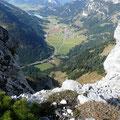 Blick von der Gaichtspitze ins Tannheimer Tal