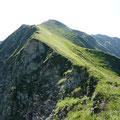 Aufstieg Richtung Kreuzeck