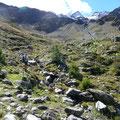Einsames Gebiet mit Blick zur Zufrittspitze