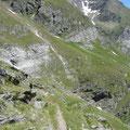 Wegverlauf Pfelderer Höhenweg