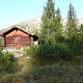 Kleine Hütte am Wegesrand