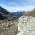 Blick zur Königsspitze,und zum Unteren Flimsee.